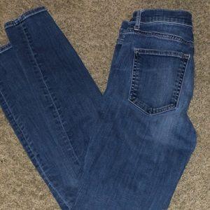 GAP skinny jeans, size 27.